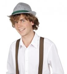 Oktoberfest Trachtenhut Seppl Wiesn Fasching Party