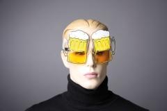 Partybrille Bierglasbrille Karneval Fasching Party Fun