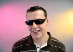 schmale Punkerbrille