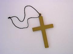 Mönchskreuz Nonnenkreuz Kreuz Accessoires Fasching