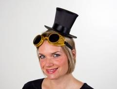 Steampunk Schweißerbrille Kostümbrille Kostümzubehör Brille Unisex
