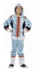 Eskimo Eskimojunge blau