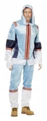 Eskimo Eskimokostüm Eskimomann blau 50-60