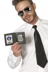 Polizeiausweis Polizeimarke Special Police FBI Agent