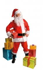 Nikolaus Nikolausanzug Weihnachtsmann Weihnachtsmannanzug Komplett
