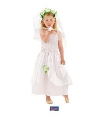 Hochzeitskleid Kinderhochzeitskleid Elfe Blumenfee Märchen Prinzessin