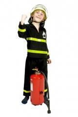 Feuerwehrmann Feuerwehr Feuerwehrkostüm 98/104 116/128 140/152