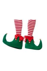 Weihnachtself Überzieher / Schuhe Wichtel Elfenschuhe
