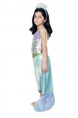 Kleine Meerjungfrau Nixe 98 bis 152 Atlantis Kinderkostüm