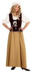 Mittelalter Magd Bäuerin Karneval Fasching Kostüm