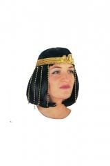 Cleopatra Ägypterin Schlangenstirnband Perlenkopfschmuck + Schlangenarmband