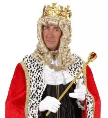Goldene Krone mit bunten Steinen König Kaiser Prinz
