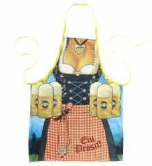 Bierschürze Oktoberfest Lederhosen oder Dirndl Design Bayernschürze