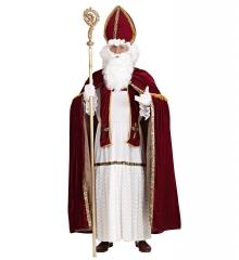 Bischof Heiliger Sankt Nikolaus Weihnachtsmann Komplett mit Mitra