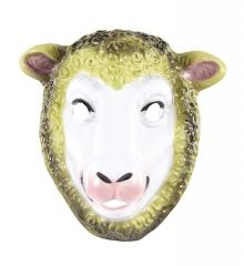 Schafmaske Schaf Kindermaske Krippenspiel Weihnachtsgeschichte