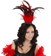 Saloongirl Westerngirl Burlesque Federkopfschmuck Rio Samba Brasil