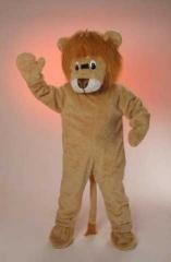 Löwe Big Löwe Kostüm Maskotchen Karneval Fasching
