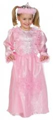 Rosa Prinzessin Prinzessinkleid Märchenprinzessin mit Diadem 104-140