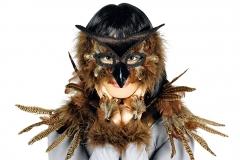 Eule Eulenkostüm Vogel Vogelkostüm Federkostüm Paradiesvogel