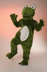 Frosch Maskotchen Kostüm Big Frosch Karneval Fasching