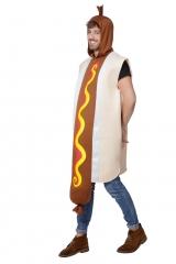 Würstchen Hotdog Wurst Kostüm Junggesellenabschied Herrenkostüm Gr. 54