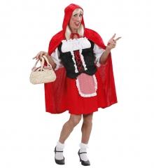 Männerkleid Junggesellenabschied Männerballett Drag Queen Rotkäppchen