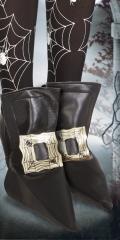 Schuhüberzieher Hexe Mittelalter Überschuhe Schuhschnallen