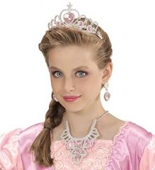 Prinzessin Schmuck Kinderprinzessin Princess Diadem Krönchen 4 teilig
