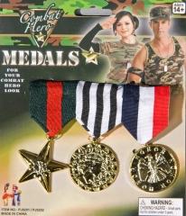 Ordensspange 3 Orden Auszeichnung Medaille