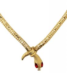 Schlangenkette Snake Schlangencollier Modeschmuck Cleopatra