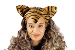 Leopard oder Tiger Tigerperücke Leopardperücke Raubkatze Wildkatze