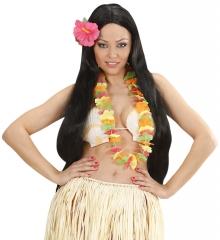 Blütenkette Blumenkette Hawaiikette NEON Sommer Sonne Strand Modetrend
