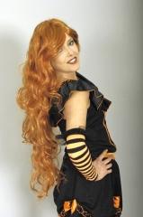 Mittelalter Barock Perücke Irish-Rot Saloongirl Karneval Fasching