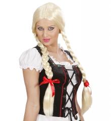 Herrendirndl Herrenkleid + Perücke Oktoberfest Junggesellenabschied