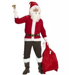 Nikolaus Weihnachtsmann Jacke mit Kapuze Weihnachtsfeier Apreski