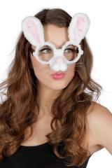 Hasenbrille Hase Häschen Bunny Hasenmaske Zauberer Osterhase