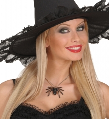 Spinnenkette Spinne Spinnenschmuck Karneval Halloween Tarantula