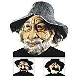 Maske alter Mann Vagabund Landstreicher Franzose alter Grieche