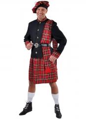 Schotte Schottenkostüm Schottenrock XS bis XXL