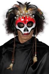 Maske Voodoo Kannibale Krieger Indianer Medizinmann
