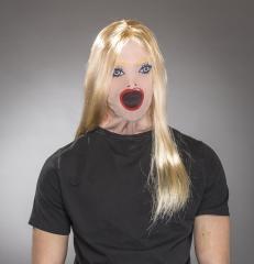 Lustige Sex-Maske Sexpuppe Pornostar Junggesellenabschied Partyspass