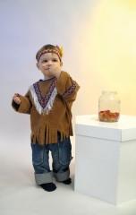 Indianer Kinderindianer Gr. 92 oder 98-104 wilder Westen