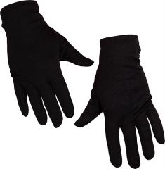 Knecht Ruprecht Schwarzer Piet Bart und Perücke + Schwarze Handschuhe