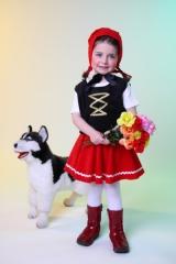 Rotkäppchen Kostüm Kinder Karneval Fasching Party