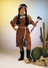 Indianerin Kleid Kinderkostüm Mädchenkostüm Fasching