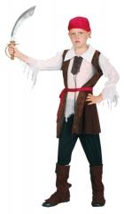 Pirat Kinderkostüm Piratenkostüm Kinderpirat Kinderparty Seeräuber