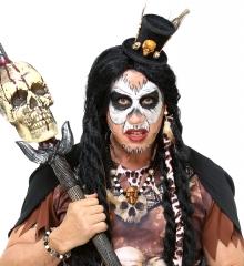 Voodoo Zauber Krieger Indianer Medizinmann Voodoo-Priester
