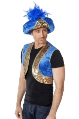 Großer Turban Kalif Orientalische Kopfbedeckung Araber Persien