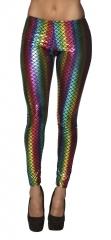 Leggings Regenbogen Fisch Rainbow Einhorn Mermaid Nixe Meerjungfrau