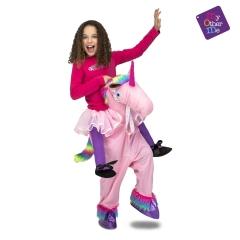 Einhornkostüm Huckepack Kinderpony Pferdekostüm